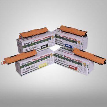 JK TONERS 126A / CE310A CE311A CE312A CE313A Toner Cartridge Compatible with HP Laserjet Pro CP1025nw, Laserjet Pro CP1025nw, TopShot Laserjet Pro M275 MFP 126 A