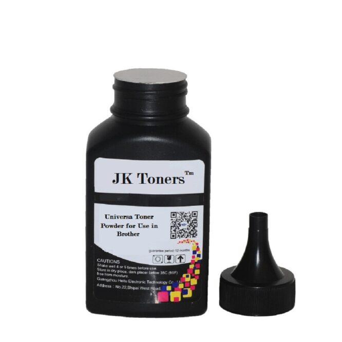 JK Toners 80Gm Universal Toner Powder For Use In Brother Cartridges For Tn1020, Tn450, Tn2280, Tn1000, Tn2365, Tn2465, TnB021, Tn850 and More