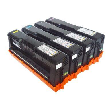 JK TONERS SP C-250 / C250E Four Colour Toner Cartridge Compatible with Ricoh SP C250DN SP C250SF Printer