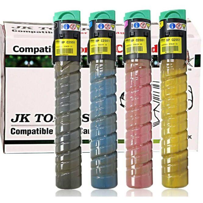 2551 2051 Toner Cartridge Compatible Ricoh MPC 2551 MP C2051 C2551